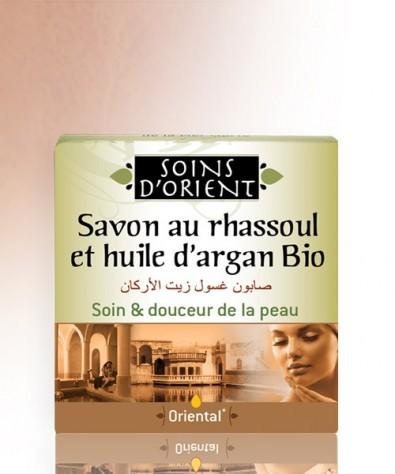 Savon au Rhassoul et huile d'Argan Bio